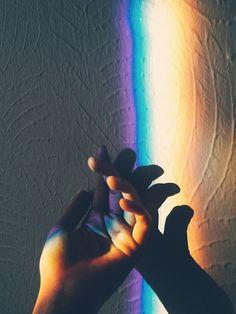 rainbow on the wall | Ana Mercedes