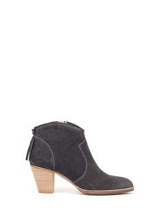 Granite Liza Tassel Back Ankle Boot