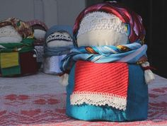 Seedy Lady magic Belorussian Doll Handmade by KasiaDorota on Etsy, $23.00