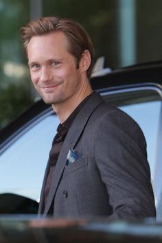 Alexander Skarsgard = Christian Grey!!! #fiftyshadesofgrey......if you watch true blood you can not tell me he wouldn't be the perfect Mr. Grey!!!!