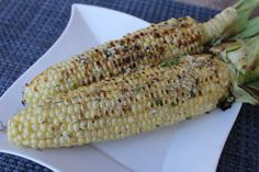Grilled Corn on the Cob with Parmesan Herb Butter