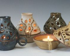 Ceramic Candle Keeper, Handmade Ceramic Lamp, Pottery Candle Holder, Ceramic Candle Holder You are in the right place about unique candle holders Here we offer you the most beautiful pictures about th Unique Candle Holders, Ceramic Candle Holders, Ceramic Techniques, Pottery Techniques, Slab Pottery, Ceramic Pottery, Ceramic Lantern, Pottery Handbuilding, Wheel Thrown Pottery