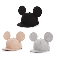 Mickey Snapback (Wool Blend)