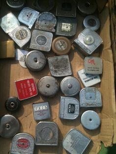 """Tape measures, add them to my gotta have list of items, 6"""" & 12"""" rulers. Sewing tape measures and yardsticks."""
