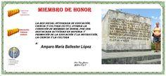 ECyC Amparo M Ballester López Miembro de Honor