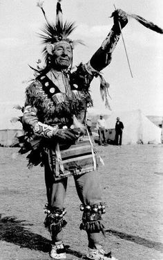 Oglala Dancer - circa 1910