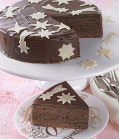 Ein saftiger Schokoladen-Grillkuchen für die Kaffeetafel