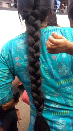 Indian Hairstyles, Bun Hairstyles, Indian Long Hair Braid, Long Hair Video, Super Long Hair, Braids For Long Hair, Thick Hair, Hair Videos, Buns