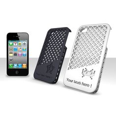 www.sculpteo.com  Customizable laser cut iphone case