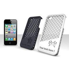 www.sculpteo.com  Customizable laser cut iphone case