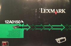 Tintenpatrone.net - Lexmark 12A0150 Tonerkartusche schwarz  Original Lexmark 0012A0150 Black  Art.Nr.:OL-0012A0150Lieferzeit: geht direkt an dich raus !Lagerbestand:1 Stück Statt 249,95 EUR nur 202,95 EUR inkl. 19% MwSt. zzgl. Versand