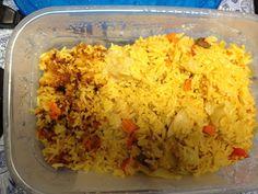 Rice very Haitian food