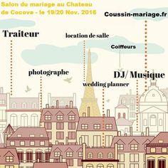 premier salon du mariage - Chateau De Cocove Mariage