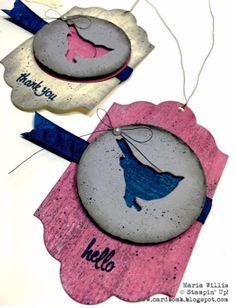 Cardbomb: OSAT Blog Hop: Shabby Chic