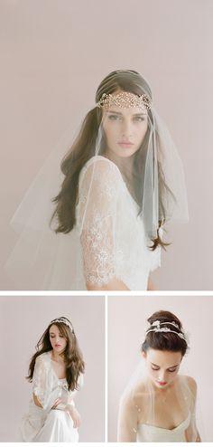 Headpieces: Twigs and Honey, photos: Elizabeth Messina
