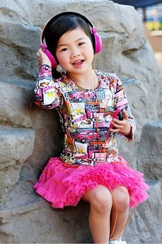 Oldie but goodie-  Mimi rocking out Ooh La La Couture Girl's Dress