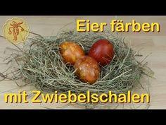 Ostereier färben mit Zwiebelschalen - YouTube