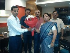 Sanjeev Puri hosted the book launch party for his friend Mohapatra at the Holiday Club