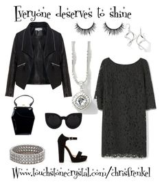 """Everyone deserves to shine"" by christen-olnhausen-frenkel on Polyvore featuring Zizzi, Violeta by Mango, Touchstone Crystal, Tatyana and powerlook"