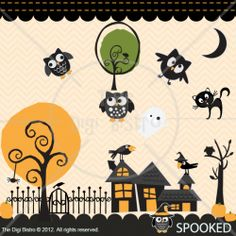 SPOOKED HALLOWEEN SVG COLLECTION| SVG Cut Files for Sure Cuts a Lot | TheDigiBistro.com