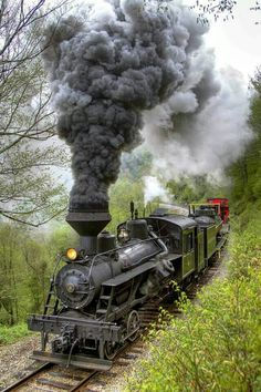 Cass Railroad in West Virginia by Tom Steele Photography