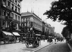 Berlin | Vor 1933. Unter den Linden/ Friedrichstraße, 1907. Max Missmann