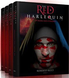 The Red Harlequin Box Set (Books 1-4)  #fantasy #awordfromJoJo #books