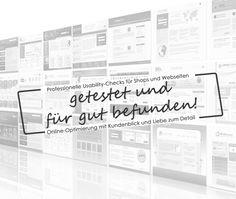 Mit usability-checks.de Fehler auf Webseiten und in Shops entdecken und so die Conversion optimieren!