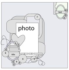 Single photo LO sketch. #scrapbooking #scrapbook #layouts #sketches #templates