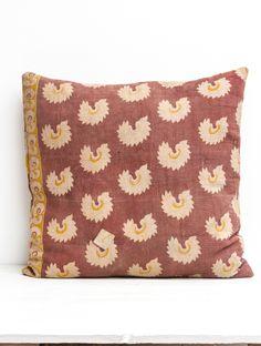 Vintage Kantha Pillow Whats New, Throw Pillows, Shop, Vintage, Toss Pillows, Cushions, Decorative Pillows, Vintage Comics, Decor Pillows