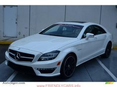 cool mercedes cls 2014 white car images hd 2014 Mercedes Benz CLS 63 AMG in Diamond White Metallic   105718