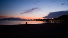 Old man fishing at sunset on Mallorca by Bence Tvarusko on 500px