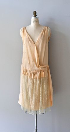 La Petite Poupée dress / vintage 1920s dress / lace by DearGolden