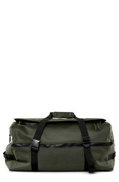f46a49383775 PRADA Black Vela Nylon   Logo Large Travel Bag nv PRADA  Black