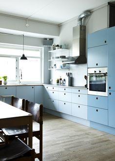 IKEA-køkken med nye fronter