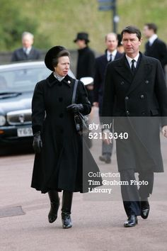 Princess Anne with husband Tim Laurence, 2004