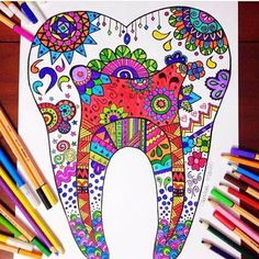 Tooth art! #dentistry #art