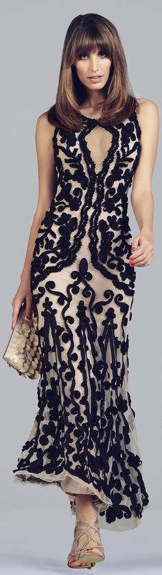 Long dress with appliques - photo phase eight prshots - what are other trends for spring and summer? http://boomerinas.com/2013/05/fashion-trends-for-women-over-50-do-you-really-care/