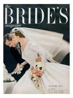brides' magazine, 1955