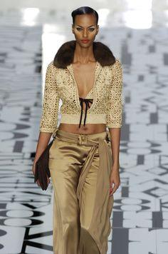 Valentino at Paris Fashion Week Fall 2004 - StyleBistro