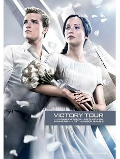 The Hunger Games: Katniss & Peeta's Victory Tour Look (Photo)  CANNOT wait!!!!