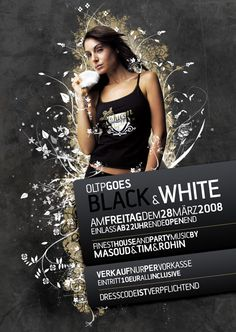 Night Club Flyer - Finest House and Party Music