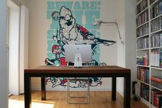 Wall Murals/Wallpapers 2010 by Jared Nickerson, via Behance