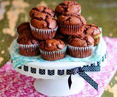 Magdalenas sabor parecido brownie.  PROBADAS OK