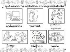 clase de infantil: FICHAS DE LA PREHISTORIA Stone Age, Bullet Journal, Activities, History, Blog, Classroom, Disney, Google, Primitives