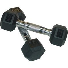 Valor Fitness Rubber Hex Dumbbells Pair 3Pound *** Read more reviews of the product by visiting the link on the image.