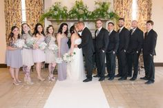 Photo by Brandi of Ashelle Photography. Chelsea & Jordan Cooke and the Bridal Party May 7, 2016 YWCA Downtown Fort Worth, Texas Historic Building