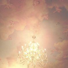 """rosey-ballerina: """" The prettiest chandeliers I've ever seen """""""