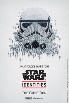 Star Wars Identities exhibit poster
