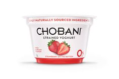 Chobani Redesigned and Redefined for UK Market  - The Dieline -